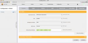 irp 1.7 configuration