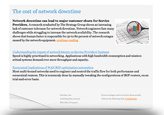 cost of network downtime