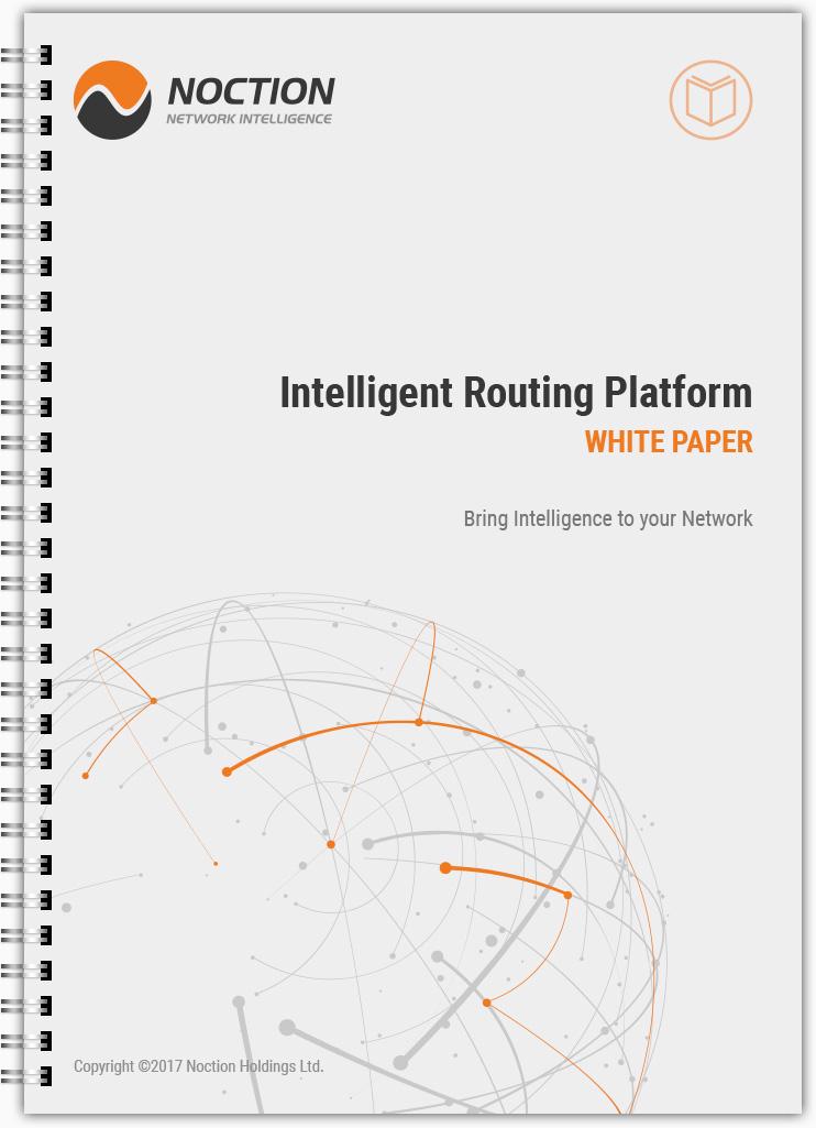 Noction Intelligent Network Platform White Paper