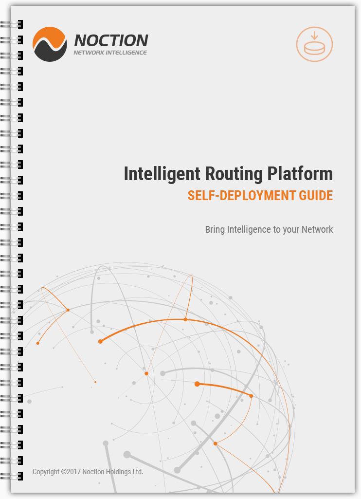 Noction Intelligent Routing Platform Self-deployment