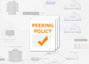 Peering policy