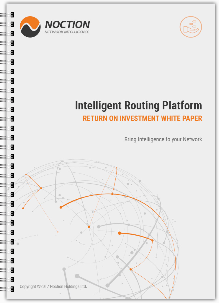 Noction Intelligent Routing Platform Return on Inverstment