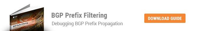 BGP Prefix Filtering