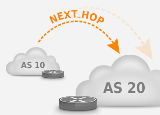 next hop