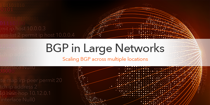 BGP Configuration for Large Networks