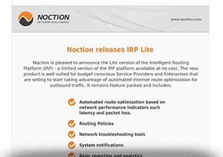 irp lite newsletter