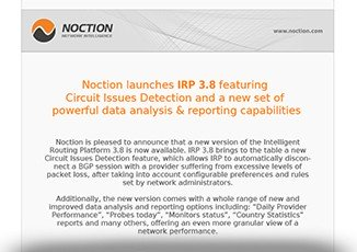 Noction IRP 3.8