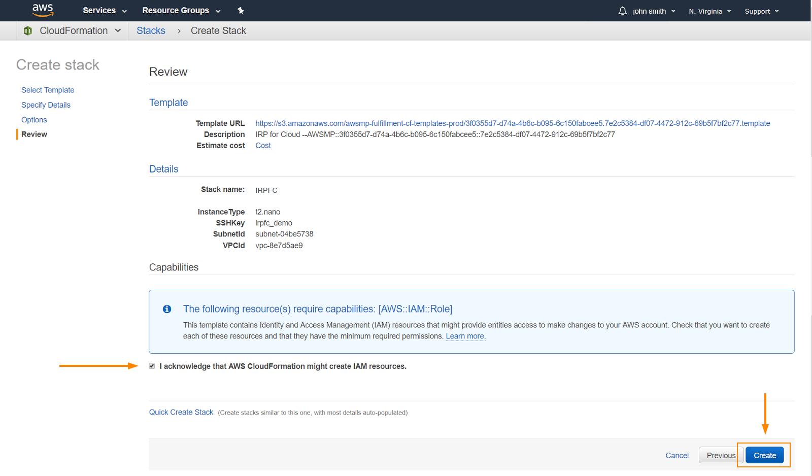 IRP for Cloud - Setup | Noction