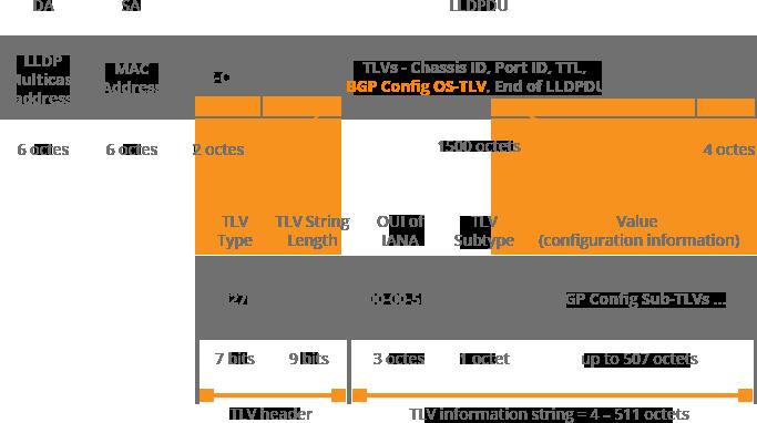 BGP Config Organizationally Specific TLV