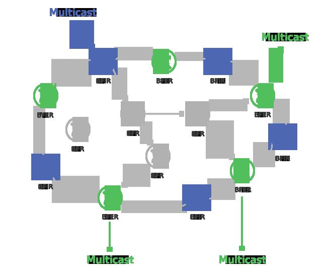 BIER Domain Multicast