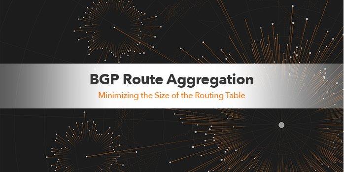 BGP Route Aggregation