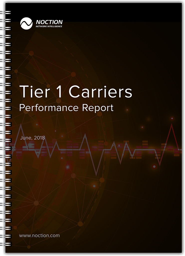 Tier 1 Carriers Performanca Report June 2018