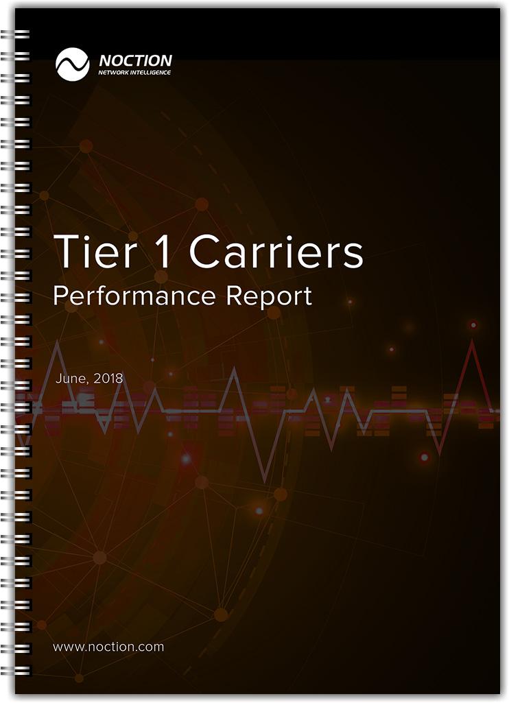Tier 1 Carriers Performanca Report June 2018