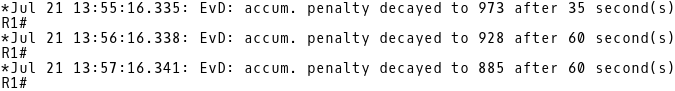Penalty Decays