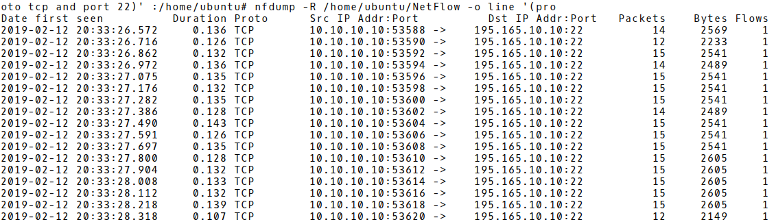 Detected Brute-force Phase Against an SSH Server