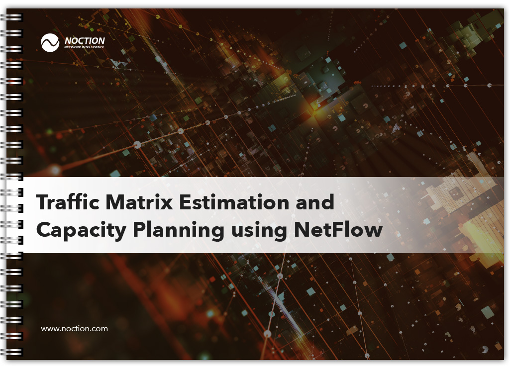 Traffic Matrix Estimation and Capacity Planning using NetFLow