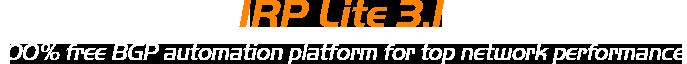 Free BGP Automation Platform