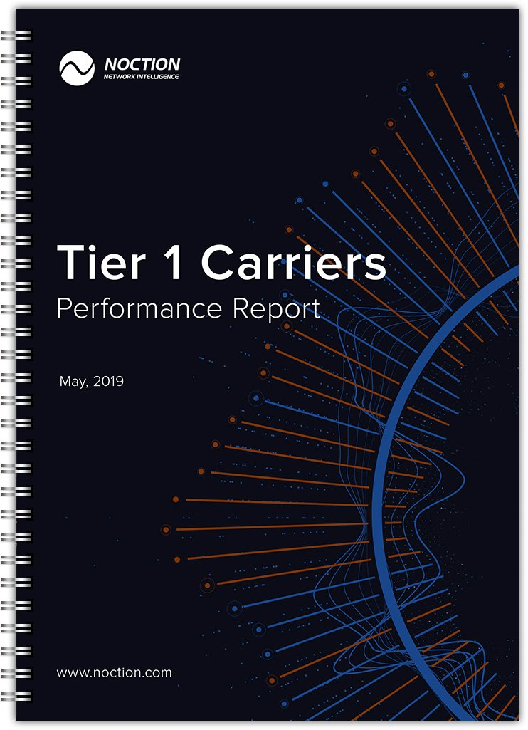 Tier 1 Carriers Performance Report May 2019