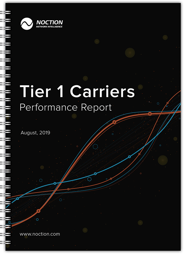 Tier 1 Carriers Performance Report - August 2019