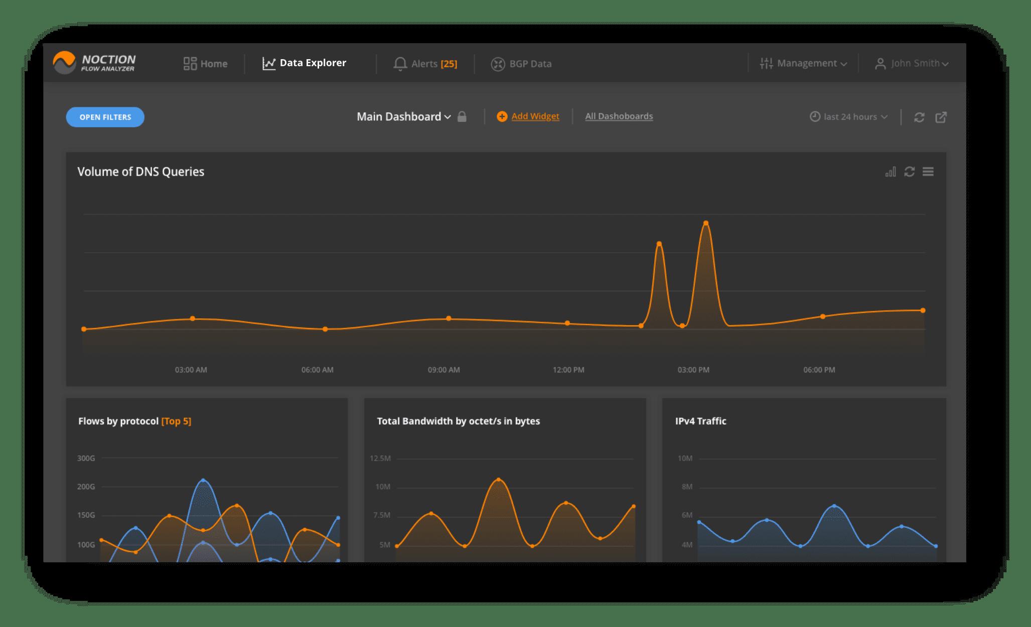 network flow analyzer