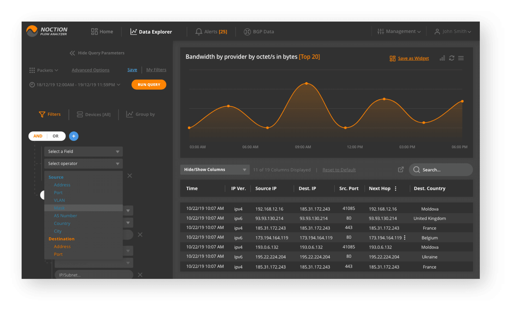 free network flow analyzer