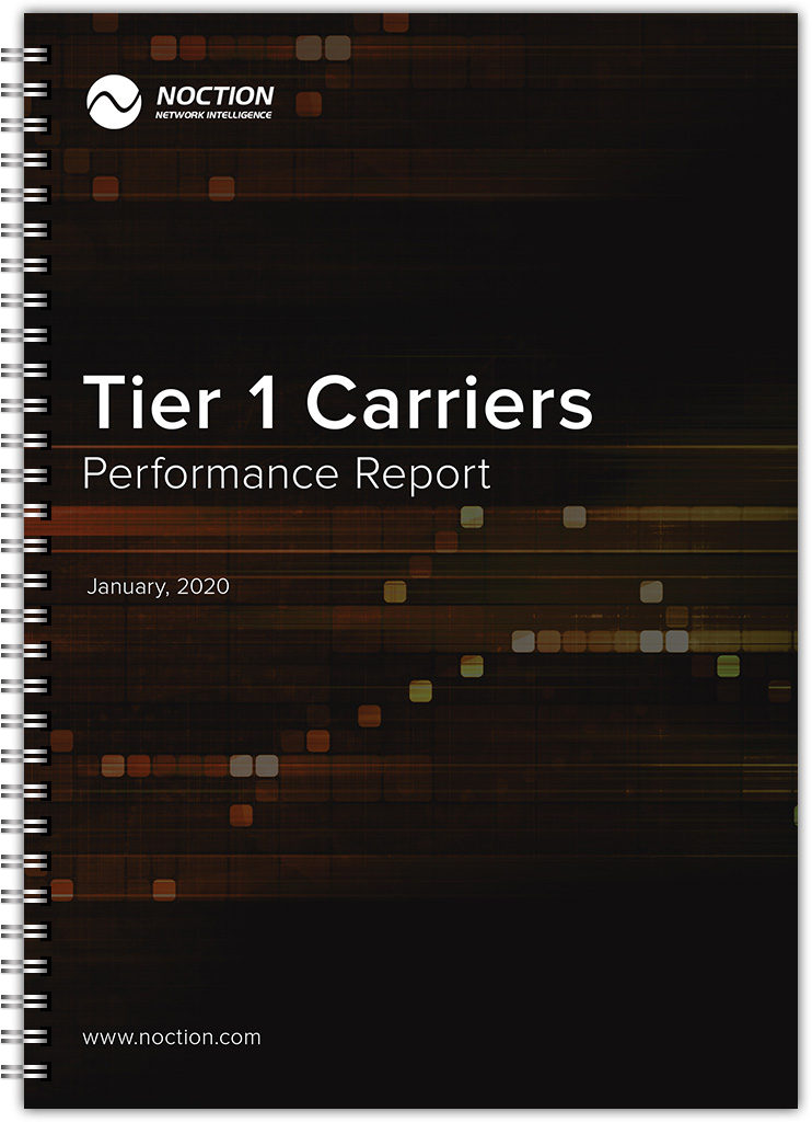 Tier1 Carriers Performance Report January 2020