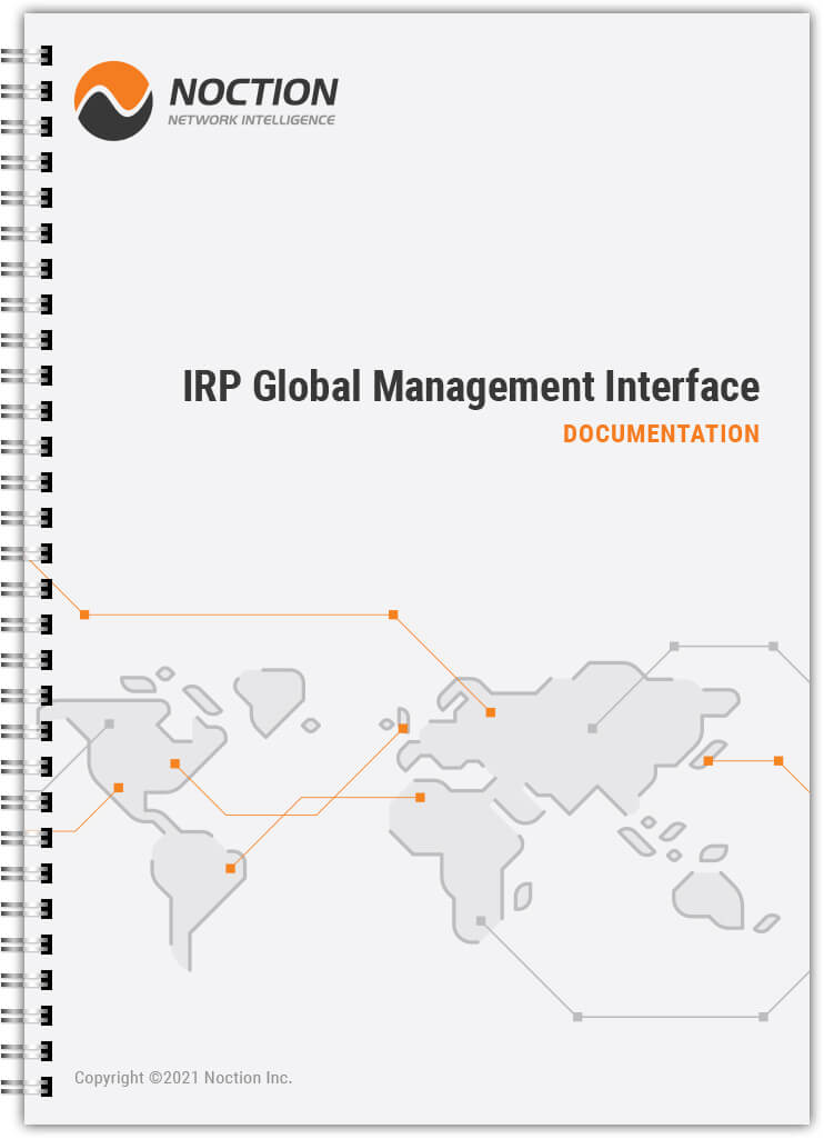 IRP Global Management Interface documentation