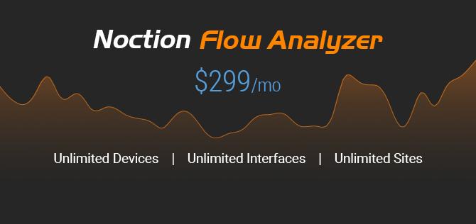Noction Flow Analyzer try