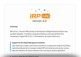 IRP Lite 3.2