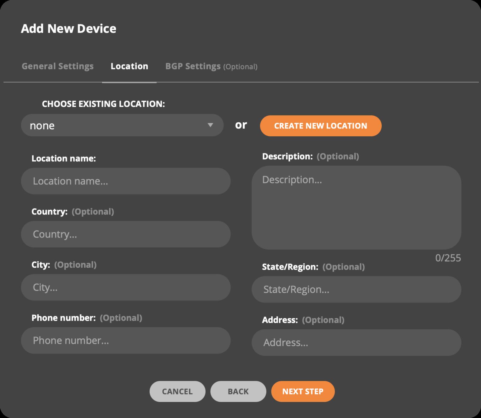 add device 4
