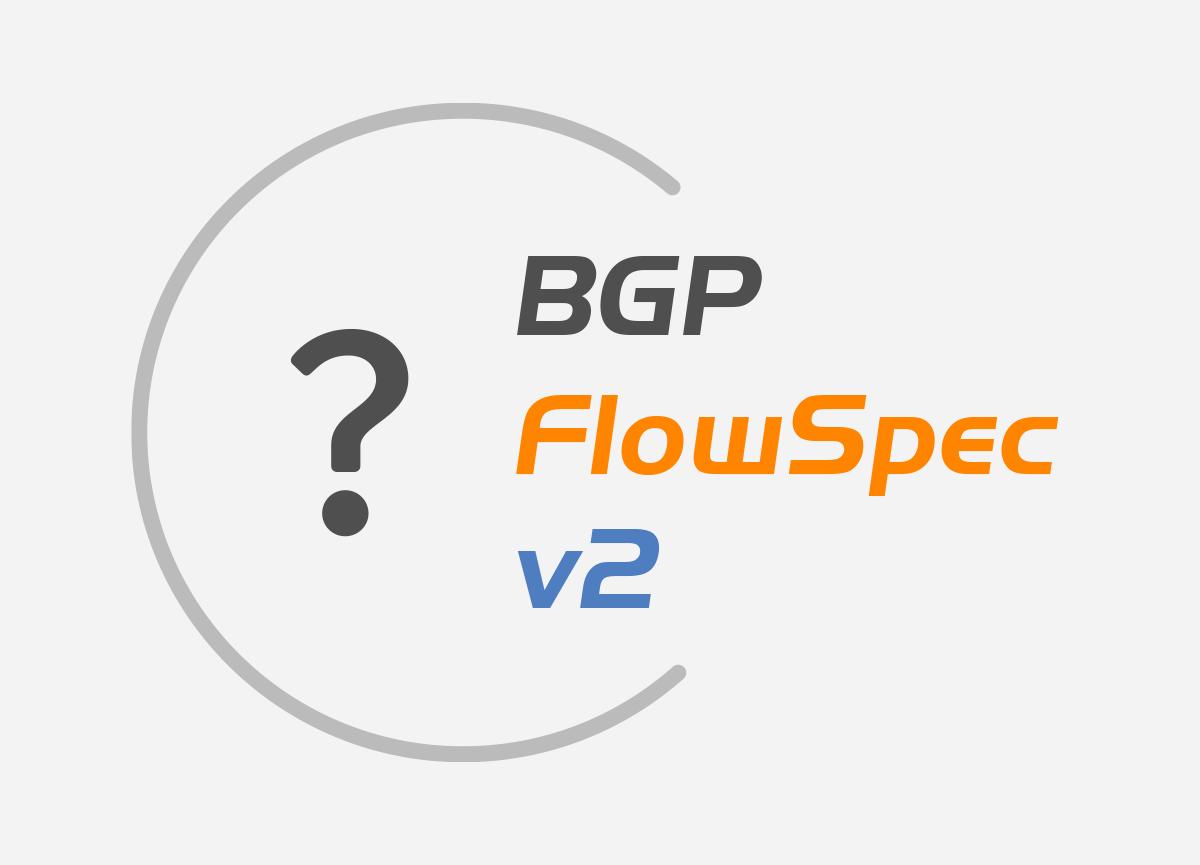 bgp flowspec version 2