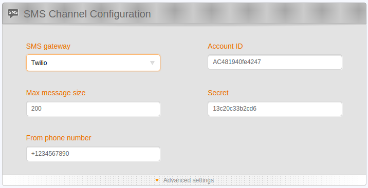 figure screenshots/configuration-editor/sms-configuration.png