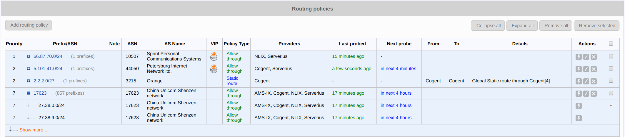 figure screenshots/routing-policies.png